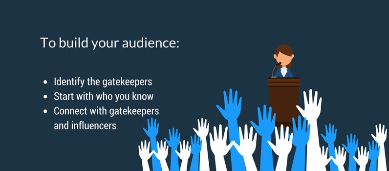 How to build your audience