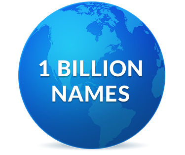 1 Billion Names